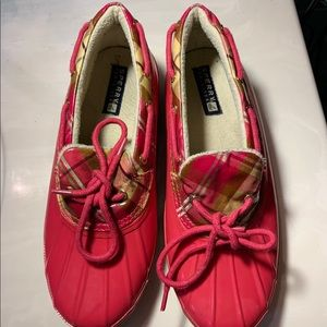 Sperry water proof clogs